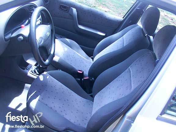 Ford hp ford fiesta street sedan 1 6 2002 for Bancos ergonomicos